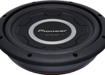 Pioneer TS-A2500LS4 10-Inch, 1,200 Watts Shallow-Mount Subwoofer