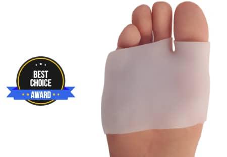 Dr. Frederick's Original Half Toe Sleeve Best Metatarsal Pads