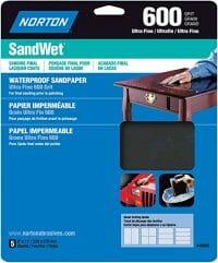 best sandpaper for glass