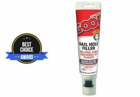 best nail hole filler for stained wood