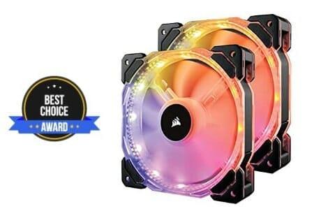 best 140mm LED case fan