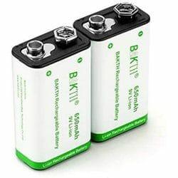 best 9 Volt rechargeable battery
