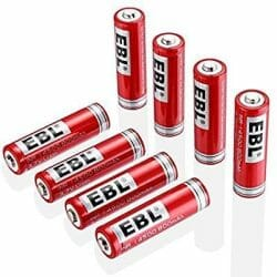 best 14500 battery long shelf life
