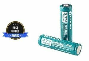 best 14500 battery