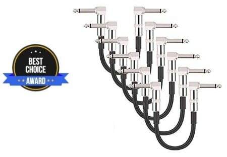 best patch cable for pedalboard