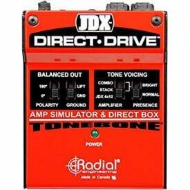 best amp simulator pedal