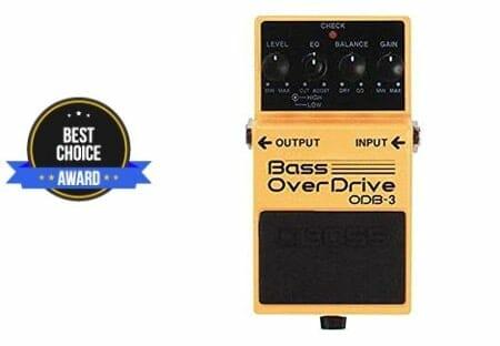 best bass overdrive pedal