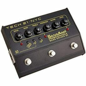 best bass preamp pedal