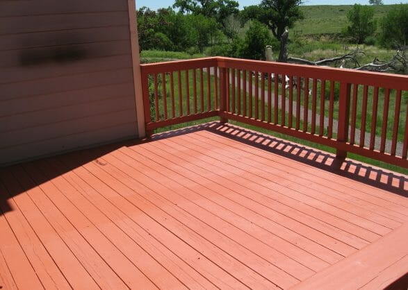 New deck painted and finnished