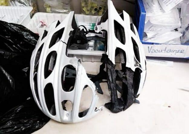 off-road bike helmet